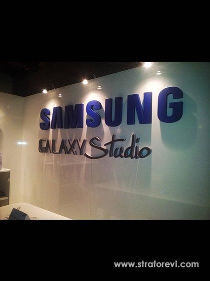Strafor Samsung Mağaza Logosu