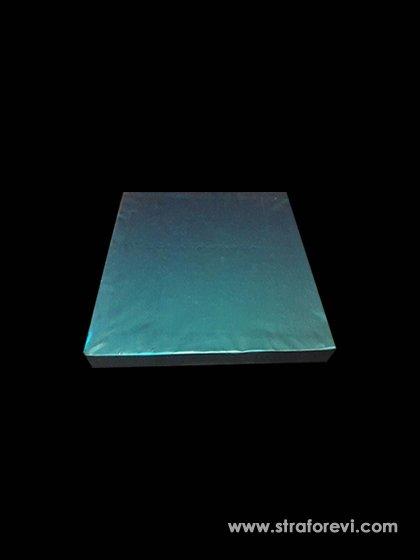 Kare Strafor Pasta Altlıkları 30cmx30cm Mavi