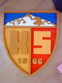 kayserispor strafor logo çalışması