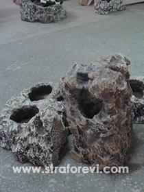 strafor kaya çalışması