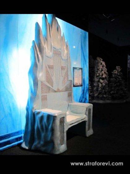 Frozen Temalı Avm Dekoru