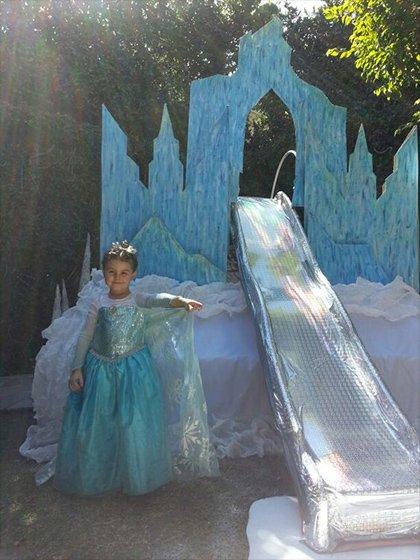 Frozen Prenses Maketi