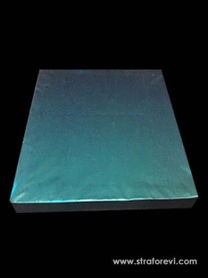 Kare Strafor Pasta Altlıkları 40cmx40cm Mavi
