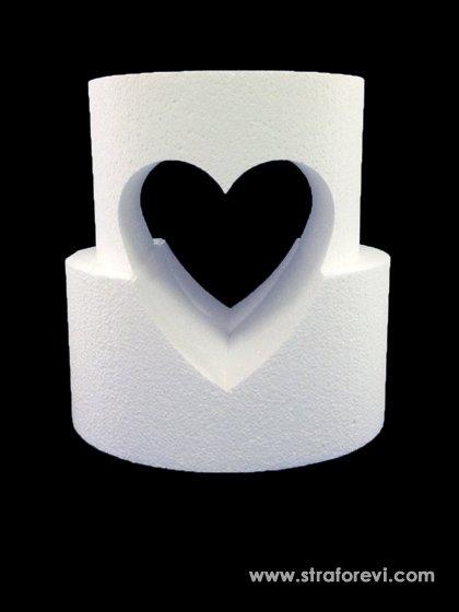 merkezi-acik-kalp-formlu-iki-katli-pasta-strafor-maketi